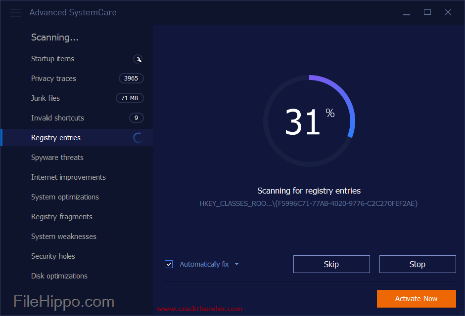 Advanced SystemCare Pro 12.5.0.270 Crack Full Registration Code Latest 2020 {Win/Mac}