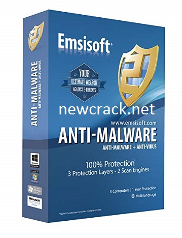 Emsisoft Anti-Malware 2019.7 Crack Full Registration Code Latest 2019 {Win/Mac}